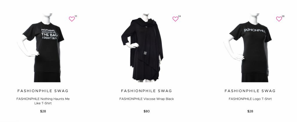 FashionPhile - Clothes Merchandise
