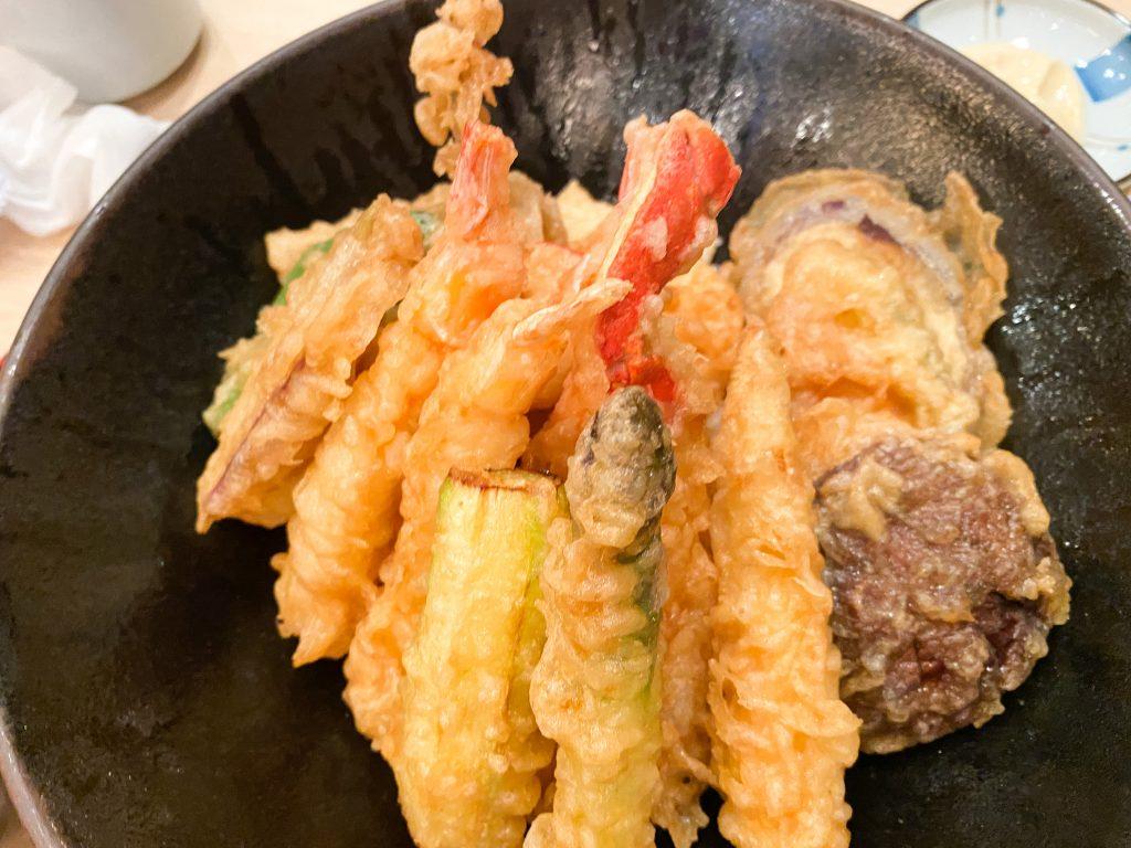 Agehan Japanese - Tempura Seafood Rice