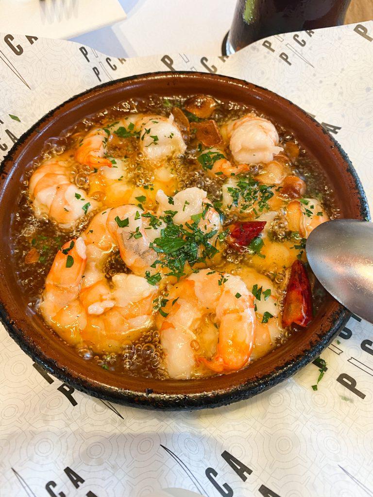 Spanish Garlic Shrimps