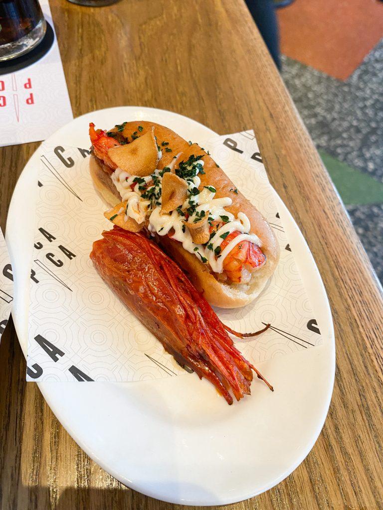 Pica Pica - Red Prawn Hot Dog