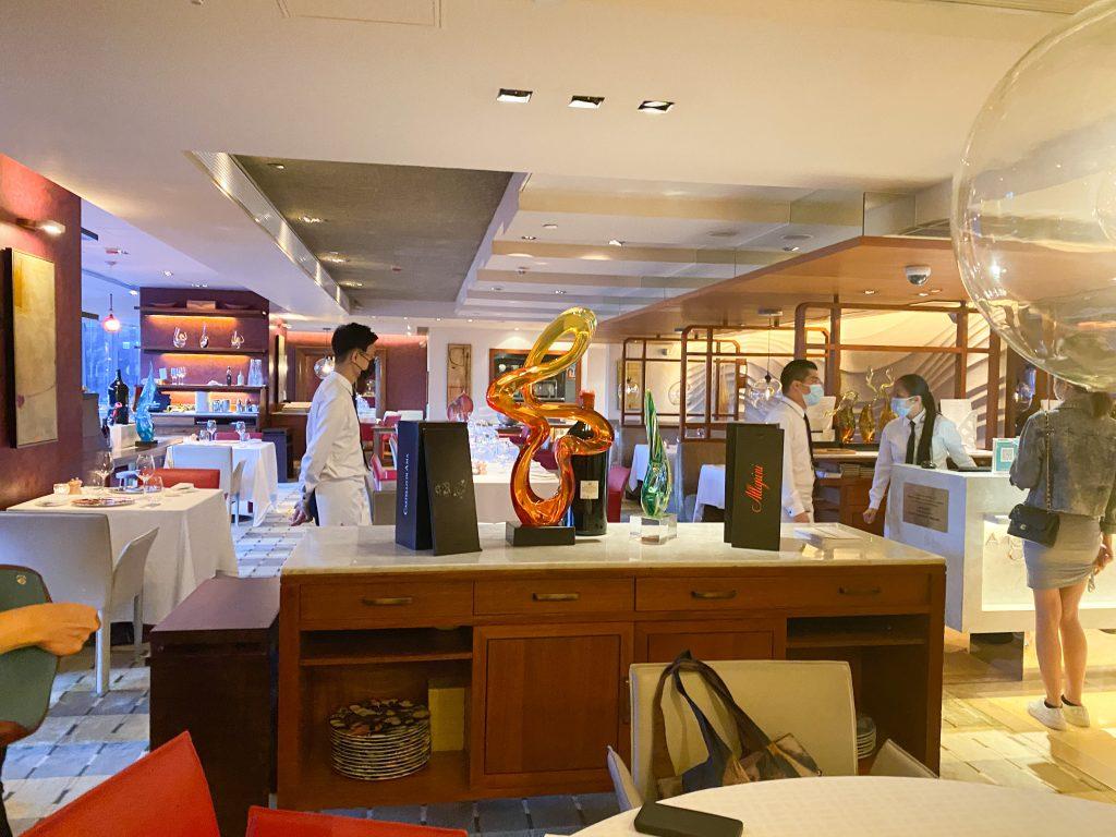 Angelini Italian Restaurant - Semi Private Seating Area