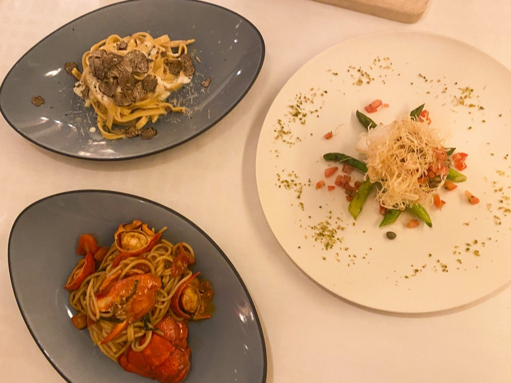 Angelini Restaurant Shangri La Pasta Dishes