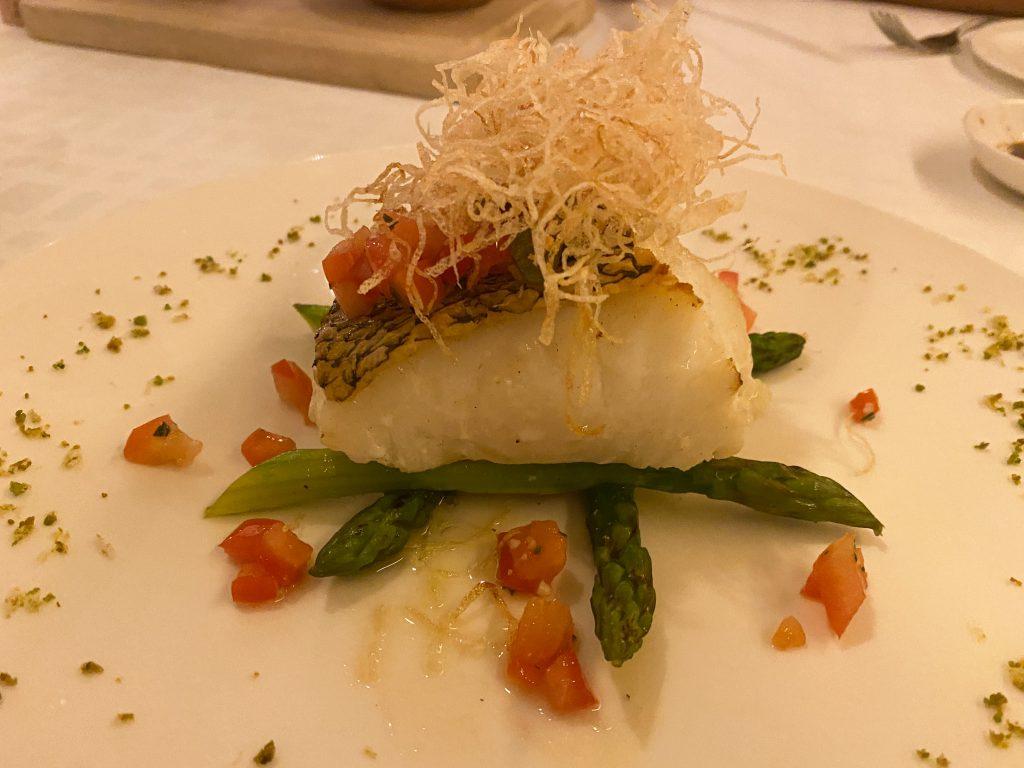 Angelini Italian Restaurant - Patagonian Toothfish